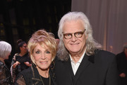 Jeannie Seely (L) and Ricky Skaggs attend the 2018 Country Music Hall of Fame and Museum Medallion Ceremony honoring inductees Johnny Gimble, Ricky Skaggs and Dottie West at Country Music Hall of Fame and Museum on October 21, 2018 in Nashville, Tennessee.