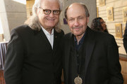 Ricky Skaggs (L) and Bobby Braddock attend the 2018 Country Music Hall of Fame and Museum Medallion Ceremony honoring inductees Johnny Gimble, Ricky Skaggs and Dottie West at Country Music Hall of Fame and Museum on October 21, 2018 in Nashville, Tennessee.