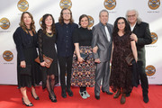 Ricky Skaggs (R) and family members attend the 2018 Country Music Hall of Fame and Museum Medallion Ceremony honoring inductees Johnny Gimble, Ricky Skaggs and Dottie West at Country Music Hall of Fame and Museum on October 21, 2018 in Nashville, Tennessee.