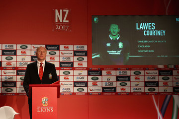 Courtney Lawes British and Irish Lions Tour Squad and Captain Announcement
