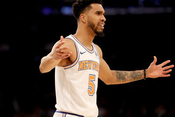 Courtney Lee Golden State Warriors vs. New York Knicks
