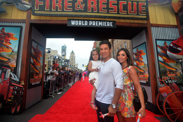 Courtney Lopez 'Planes: Fire & Rescue' Premieres in Hollywood