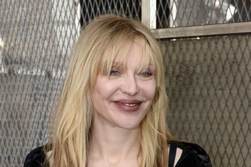 Courtney Love Celebrities Arrive at Givenchy During Paris Fashion Week