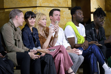 Courtney Love Sies Marjan - Front Row - September 2019 - New York Fashion Week: The Shows