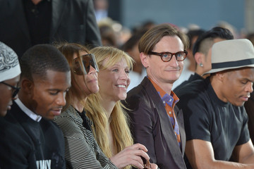 Courtney Love Courtney Love Watches Givenchy at Paris Fashion Week