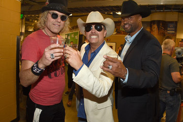 Cowboy Troy Big Kenny 2015 CMT Music Awards - Backstage & Audience
