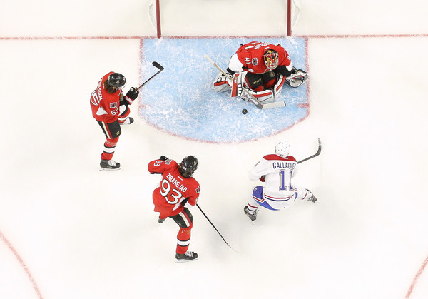 Montreal Canadiens v Ottawa Senators - Game Three []