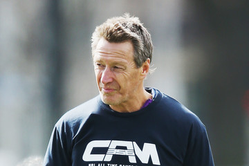 Craig Bellamy Melbourne Storm Training Session