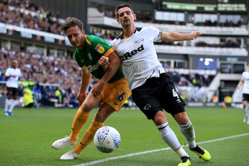 Craig Bryson Derby County vs. Preston North End - Sky Bet Championship