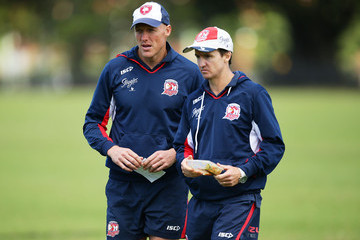 Craig Fitzgibbon Sydney Roosters Training Session