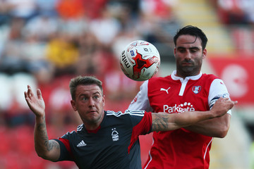 Craig Morgan Rotherham United v Nottingham Forest