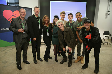 Crawford Collins Ricki Lake, Wesley Stromberg, Sammy Wilkinson, Megan Nicole, and Melvin Greg Launch #TREATMENTFORALL
