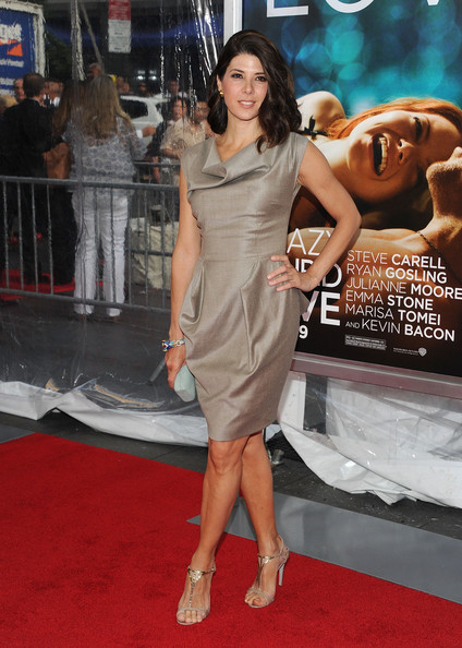 "Actress Marisa Tomei attends the ""Crazy, Stupid, Love."" World Premiere at the Ziegfeld Theater on July 19, 2011 in New York City."