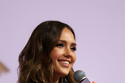 Jessica Alba speaks at Create & Cultivate Los Angeles at Rolling Greens Los Angeles on February 22, 2020 in Los Angeles, California.