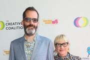 Eric White and Patricia Arquette attend the Creative Coalition's Annual Television Humanitarian Awards Gala 2019 at Ocean Prime on September 21, 2019 in Beverly Hills, California.
