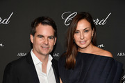 Jeff Gordon and  Ingrid Vandebosch attend Creatures Of The Night Late-Night Soiree Hosted By Chopard And Champagne Armand De Brignac at The Setai Miami Beach on December 5, 2017 in Miami Beach, Florida.
