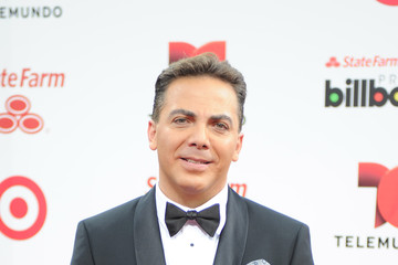 Cristian Castro Arrivals at the Billboard Latin Music Awards