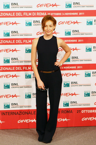 """La Kryptonite Nella Borsa"" Photocall - Rome Film Fest [la kryptonite nella borsa,clothing,shoulder,carpet,red carpet,waist,cristiana capotondi,photocall,actress,rome,italy,international rome film festival,photocall during the 6th international rome film festival]"