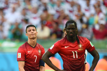 Cristiano Ronaldo Eder Citadin Martins Germany v Portugal: Group G - 2014 FIFA World Cup Brazil