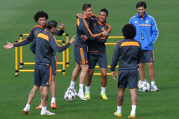 Cristiano Ronaldo Real Madrid CF Training Session