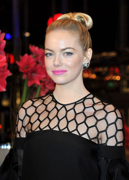 Emma Stone attends the 'The Croods' Premiere during the 63rd Berlinale International Film Festival at Berlinale Palast on February 15, 2013 in Berlin, Germany.