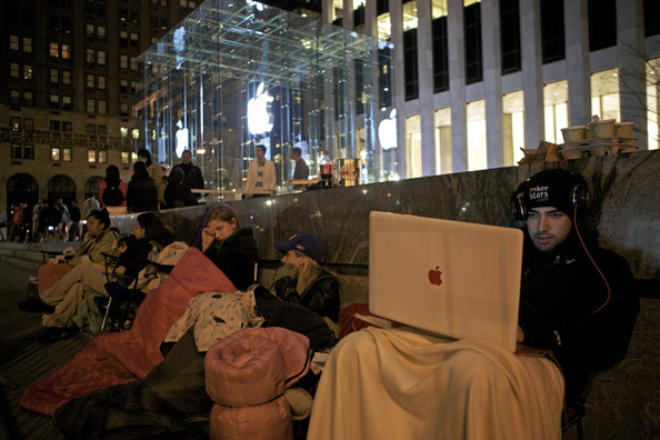 Apple Corps - Standing in Line for Mac Products
