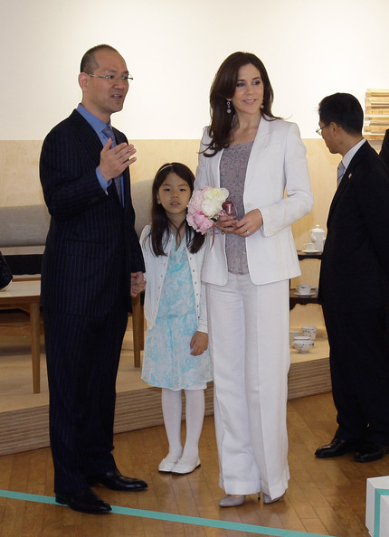 Crown Princess Mary of Denmark visits at the Finn Juhl Exhibition at Daelim Museum on May 11, 2012 in Seoul, South Korea. The Crown Prince and Crown Princess of Denmark are on a six-day visit to South Korea.