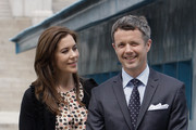 Prince Frederik of Denmark and Crown Princess Mary of Denmark visit at the border village of panmunjom between South and North Korea in the demilitarized zone (DMZ) on May 13, 2012, South Korea. The Crown Prince and Crown Princess of Denmark are on a six-day visit to South Korea.