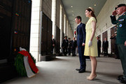 THR Crown Prince Frederik of Denmark and Crown Princess Mary of Denmark offer flowers at the War Memorial of Korea on May 10, 2012 in Seoul, South Korea. The Crown Prince and Crown Princess of Denmark are on a six-day visit to South Korea.