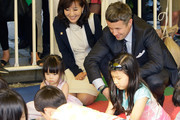 Prince Frederik of Denmark talks with South Korean children during a visits at the Lego World tower Korea event at the Seoul Olympic Stadium on May 13, 2012 in Seoul, South Korea. The Crown Prince and Crown Princess of Denmark are on a six-day visit to South Korea.