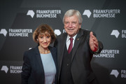 The Prime Minister of Hesse Volker Bouffier and Ursula Bouffier attend the opening ceremony of the Frankfurt Book Fair 2019 on October 15, 2019 in Frankfurt am Main, Germany.