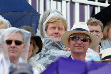 Crown Prince Willem-Alexander Olympics Day 4 - Equestrian