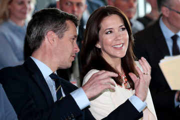 Crown Prince of Denmark Crown Prince Frederik and Crown Princess Mary of Denmark Visit Germany