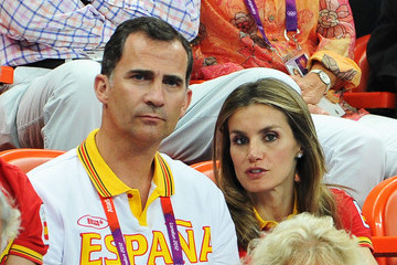 Crown Princess Letizia of Spain Olympics - Day 15 - Royals at the Olympics