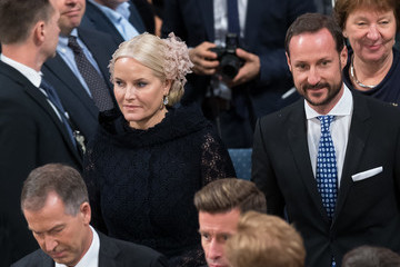 Crown Princess Mette-Marit of Norway Nobel Peace Prize Award Ceremony 2016