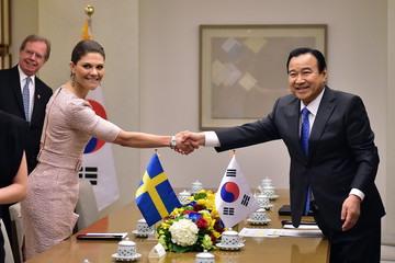 Crown Crown Princess of Sweden Victoria Visits South Korea - Day 2