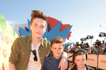 Cruz Beckham Nickelodeon's 28th Annual Kids' Choice Awards - Red Carpet