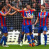 Yohan Cabaye Photos - James McArthur of Crystal Palace celebrates with Yohan Cabaye after scoring his sides second goal during the Premier League match between Crystal Palace and Leicester City at Selhurst Park on April 28, 2018 in London, England. - Crystal Palace vs. Leicester City - Premier League