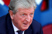 Roy Hodgson, Manager of Crystal Palace looks on prior to the Premier League match between Crystal Palace and Southampton FC at Selhurst Park on September 1, 2018 in London, United Kingdom.