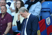 Roy Hodgson, Manager of Crystal Palace looks dejected during the Premier League match between Crystal Palace and Southampton FC at Selhurst Park on September 1, 2018 in London, United Kingdom.