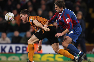 Sam Vokes Crystal Palace v Wolverhampton Wanderers - FA Cup 4th Round Replay