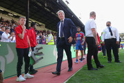 Roy Hodgson, Manager of Crystal Palace walks off at the end during the Premier League match between Crystal Palace and Southampton FC at Selhurst Park on September 1, 2018 in London, United Kingdom.