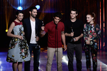 Crystal Reed Dylan O'Brien 2013 Young Hollywood Awards Presented By Crest 3D White And SodaStream / The CW Network - Show