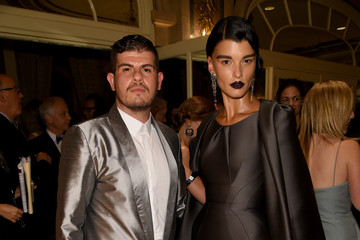 Crystal Renn Samsung GALAXY At Harper's BAZAAR Celebrates Icons By Carine Roitfeld