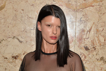 Crystal Renn Gucci Beauty Launch Event Hosted By Frida Giannini