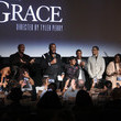 Crystal fox Netflix Premiere Tyler Perry's 'A Fall From Grace'