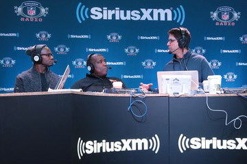 Curt Menefee SiriusXM at Super Bowl LII