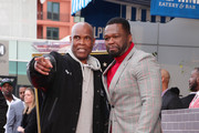 "(L-R) Big Boy and Curtis ""50 Cent"" Jackson attend a ceremony honoring 50 Cent with a star on the Hollywood Walk of Fame on January 30, 2020 in Hollywood, California."