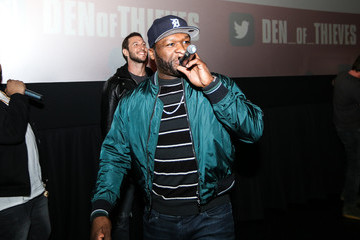 """Curtis """"50 Cent"""" Jackson 'DEN OF THEIVES' SPECIAL SCREENING With Gerard Butler and Others"""