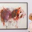 Cy Twombly Sotheby's Modern British, Impressionist, Modern, and Contemporary Art Exhibition